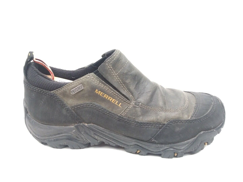 Merrell Polarand Rove Moc Mens Castle Rock Shoes Size 9.5 J23421 Waterproof
