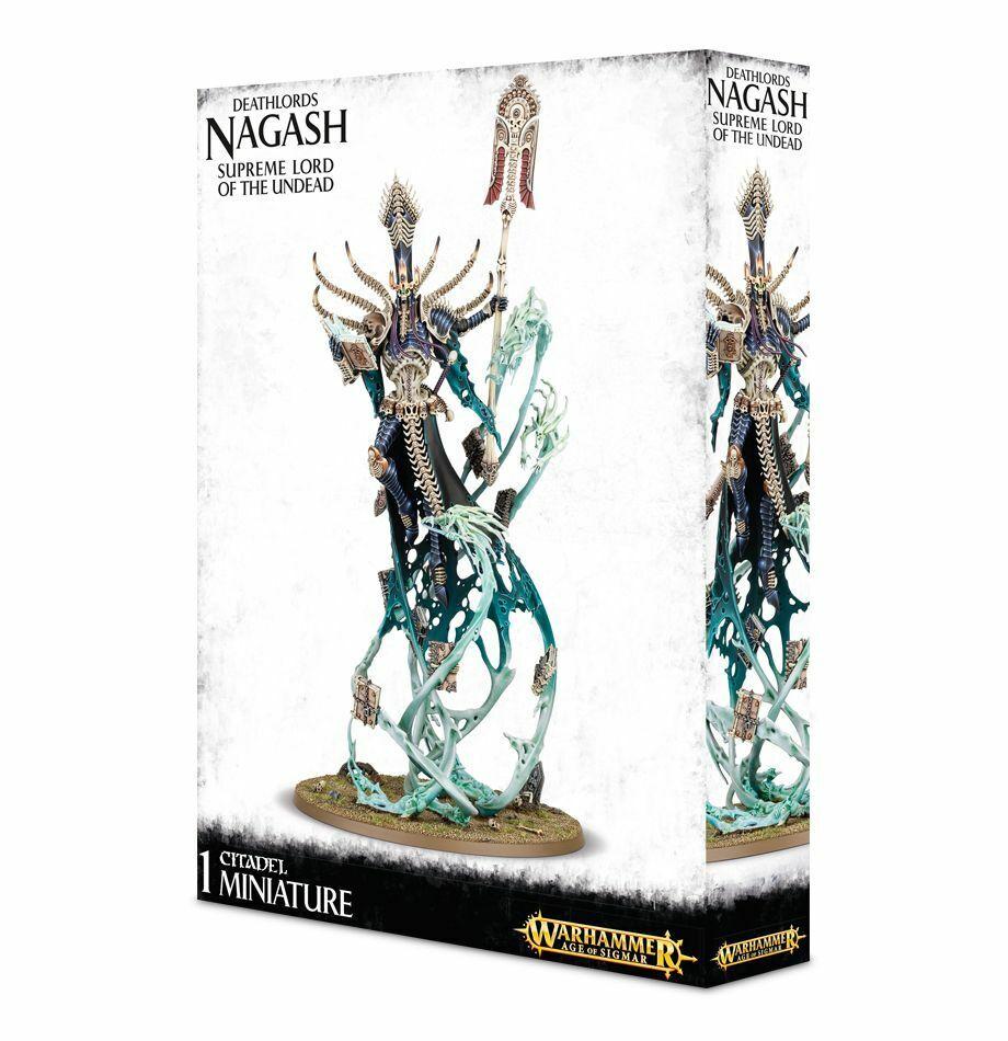 Deathlords Nagash Nagash Nagash Supreme Lord of the Undead Games Workshop Warhammer Aos 6bce09
