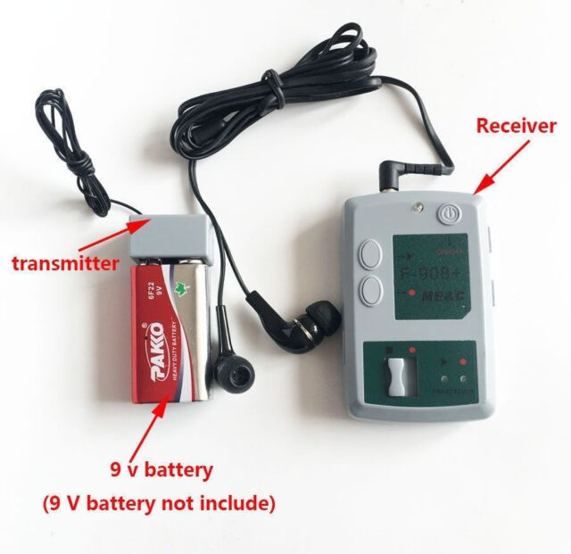 4gb Wireless Spy Voice Transmitter Receiver Audio Listen Device Bug