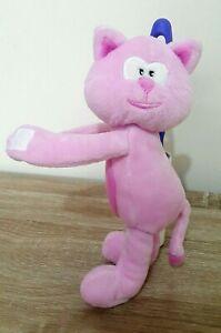Pink-Cat-Kitten-Soft-Plush-Stuffed-Toy-23CM-Tall