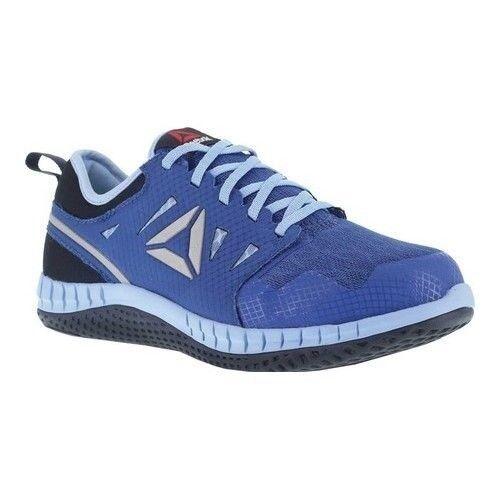 Reebok 6W Work Women's Zprint Work RB254 Steel Toe Athletic Work shoes bluee Sky