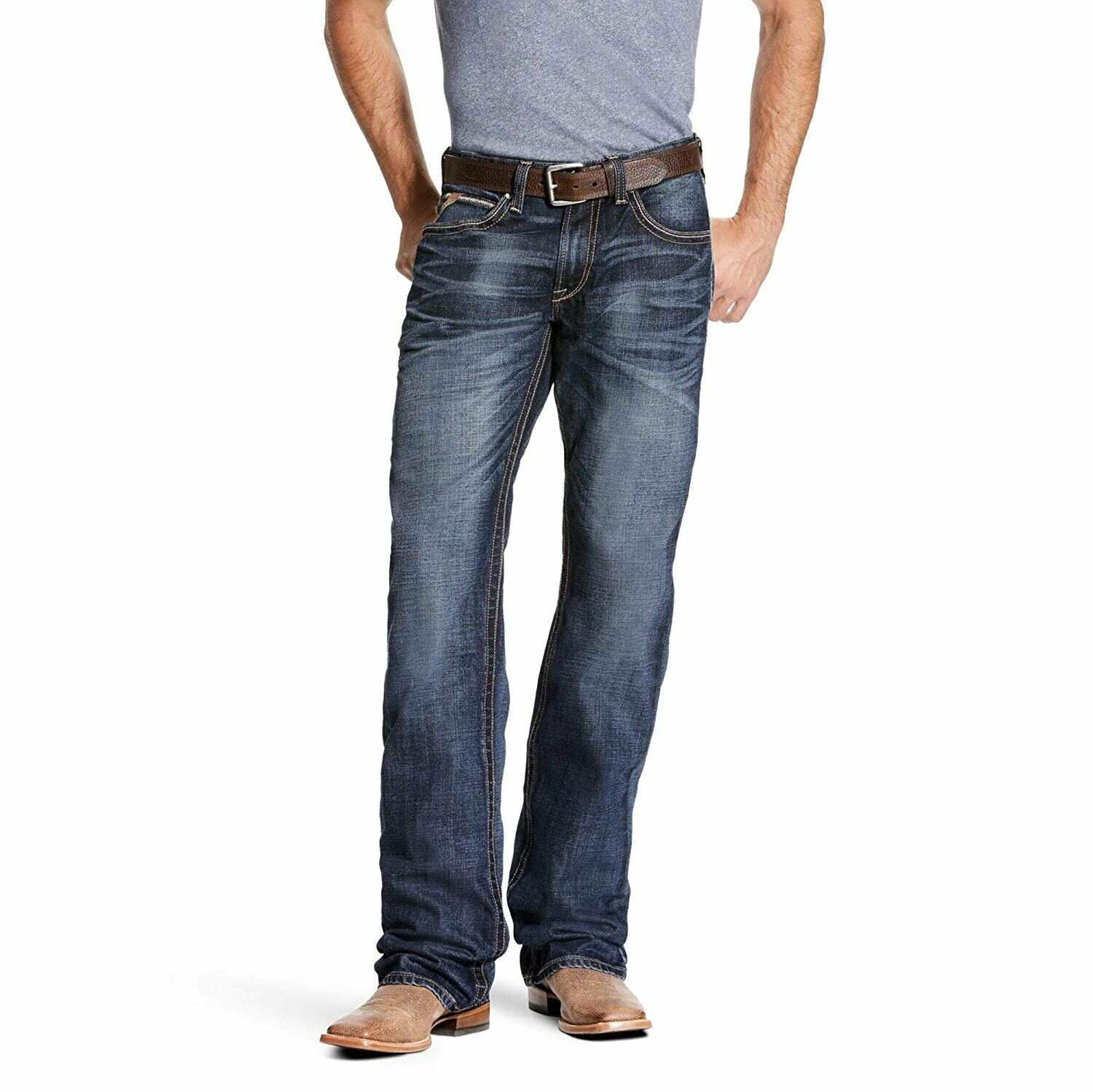 ARIAT M5 Slim Madison Stretch Boot Cut Jean