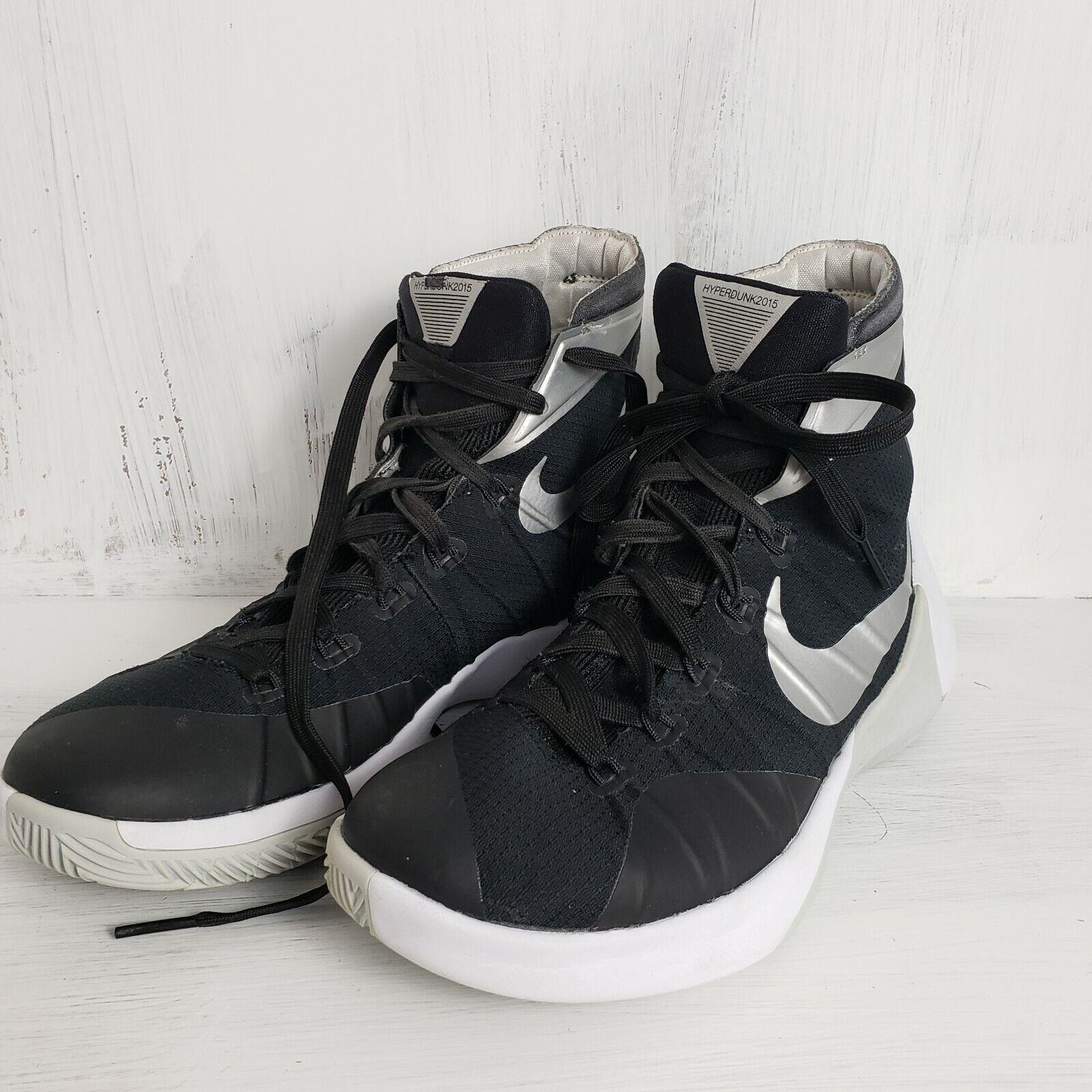 huge discount bafe8 b4b32 Nike Mens shoes Hyperdunk 2015 Hi Top Size Size Size 8.5 Black and White  Basketball shoes