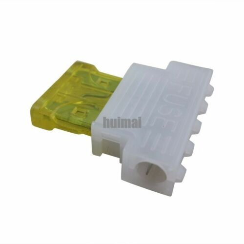 20A Blade Fuse Auto Middle Medium Standard Fuse Holder for Car Boat Truck 50pcs