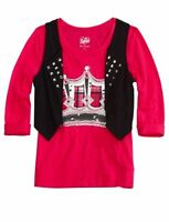 Justice Girls Plaid Crown Shirt, New, 16 18