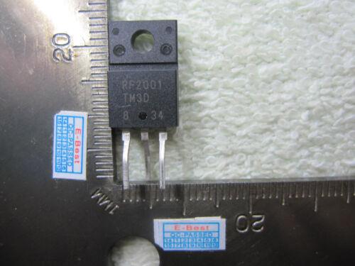4pcs RF2O01 RF20O1 RF200I RF2001TM RF2001TM3 RF2001 TM3D RF2001TM3D TO220F-3