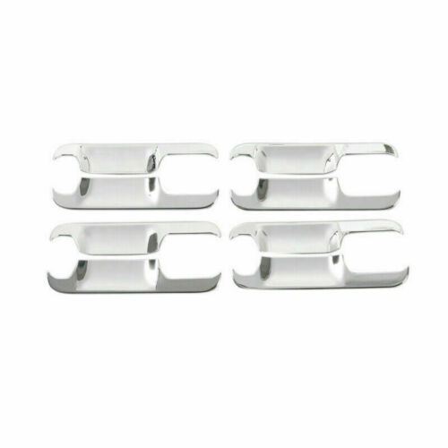 Exterior Door Handle Bowl Cover Trim Chrome ABS For Ford F150 2015-2019 8pcs