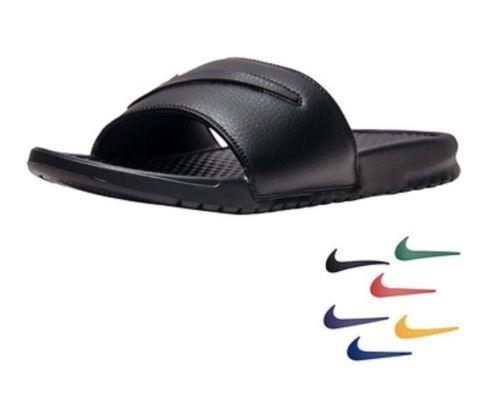 reputable site 410fa e8ffb Nike Benassi JDI Ltd Sandals Mens Size 18 Interchangeable Colors Aq8614 001  for sale online   eBay