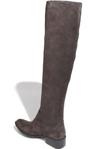 NWOB Born Cady Suede Gray Tall Boots