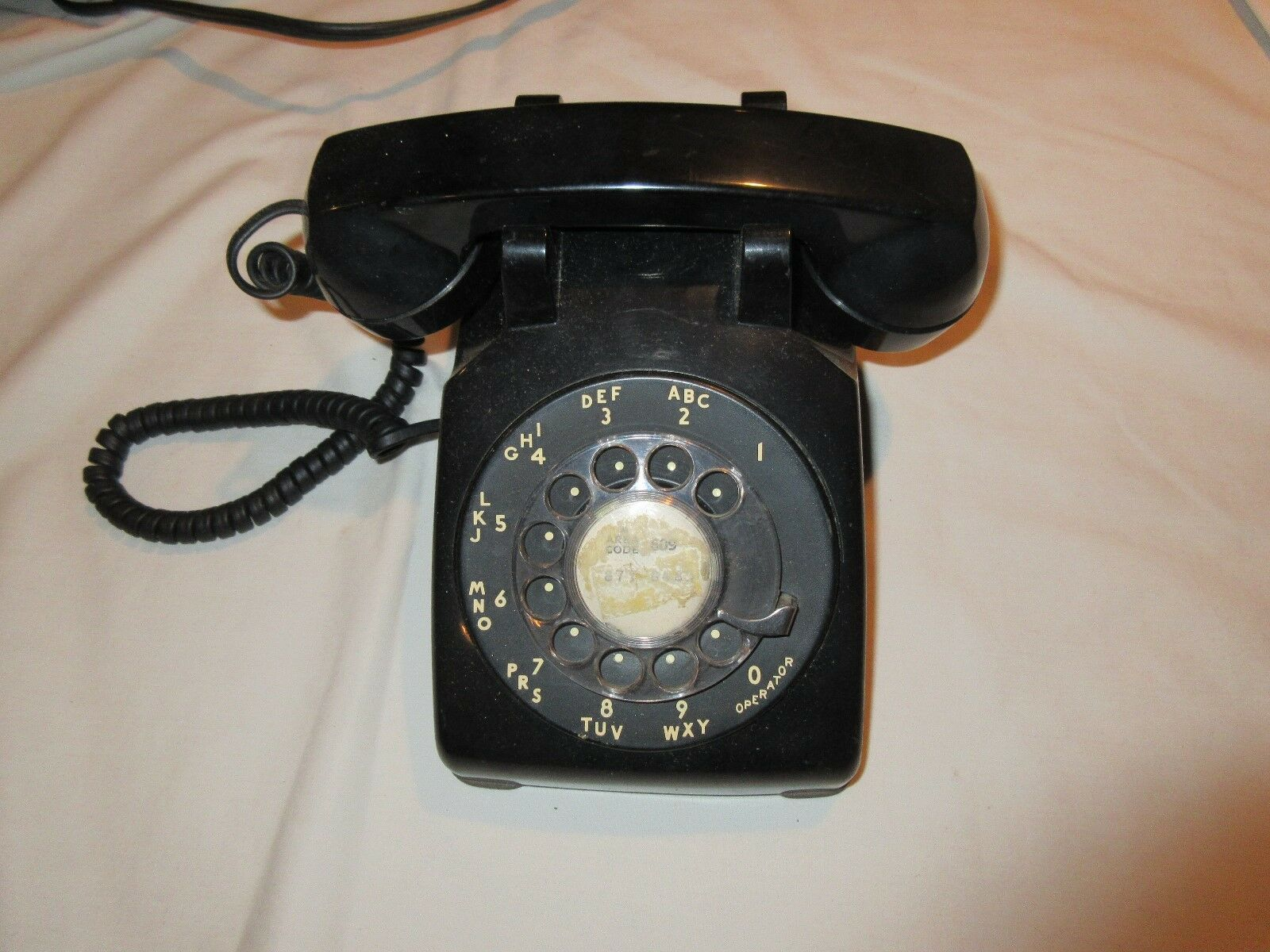 Telephone,Antique, Vintage, Rare , 500 D/M , New Jersey