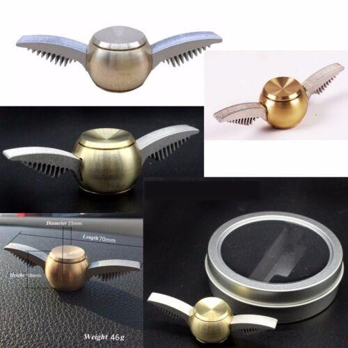 NOUVEAU Harry Potter Golden Snitch Bangers Spinner livraison rapide ailes main toy au Royaume-Uni