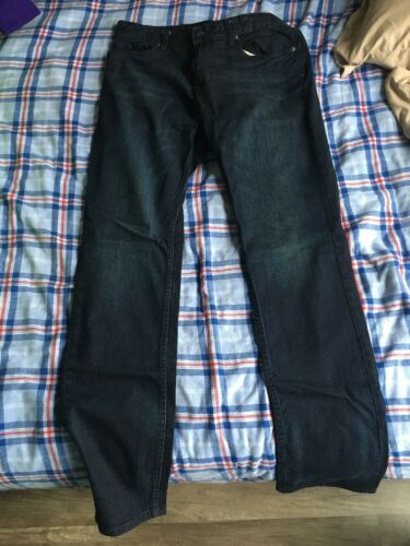 Hommes Klein Jamais Jeans Slim Calvin Port 32x34 Straight ZSwdc5q