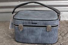 Mädler Kosmetikkoffer cosmetic case blau blue 70er True Vintage 70s beauty cases