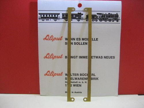LILIPUT # 3138.2 Leiterbahn Lötleiste Messingblech  Beleuchtung H0 Wagen// E-lok