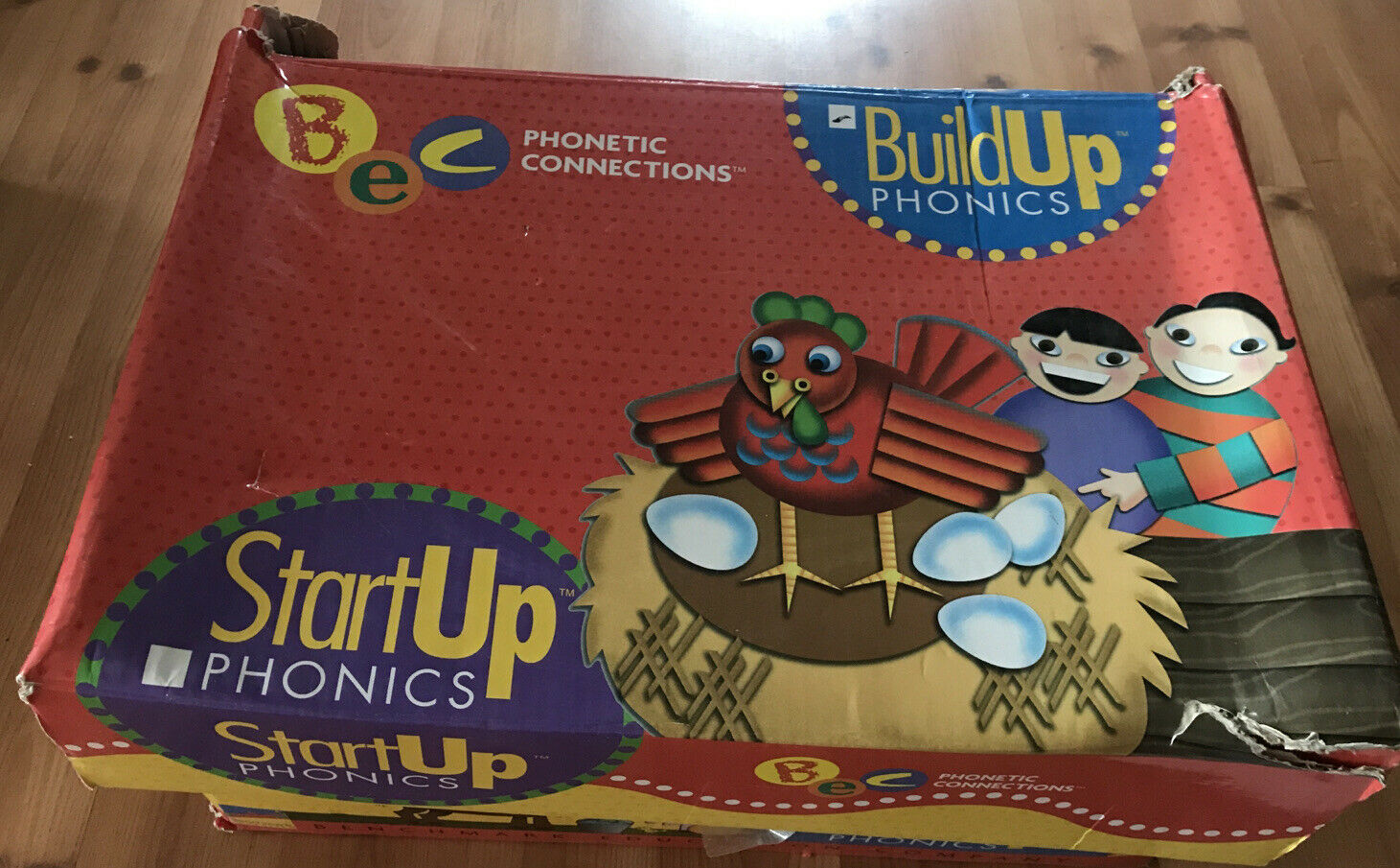 Benchmark Education Build Up Phonics Phonetic Connections Literacy Kit VGUC 2