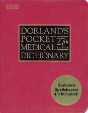 Dorland's Pocket Medical Dictionary Book + CDROM