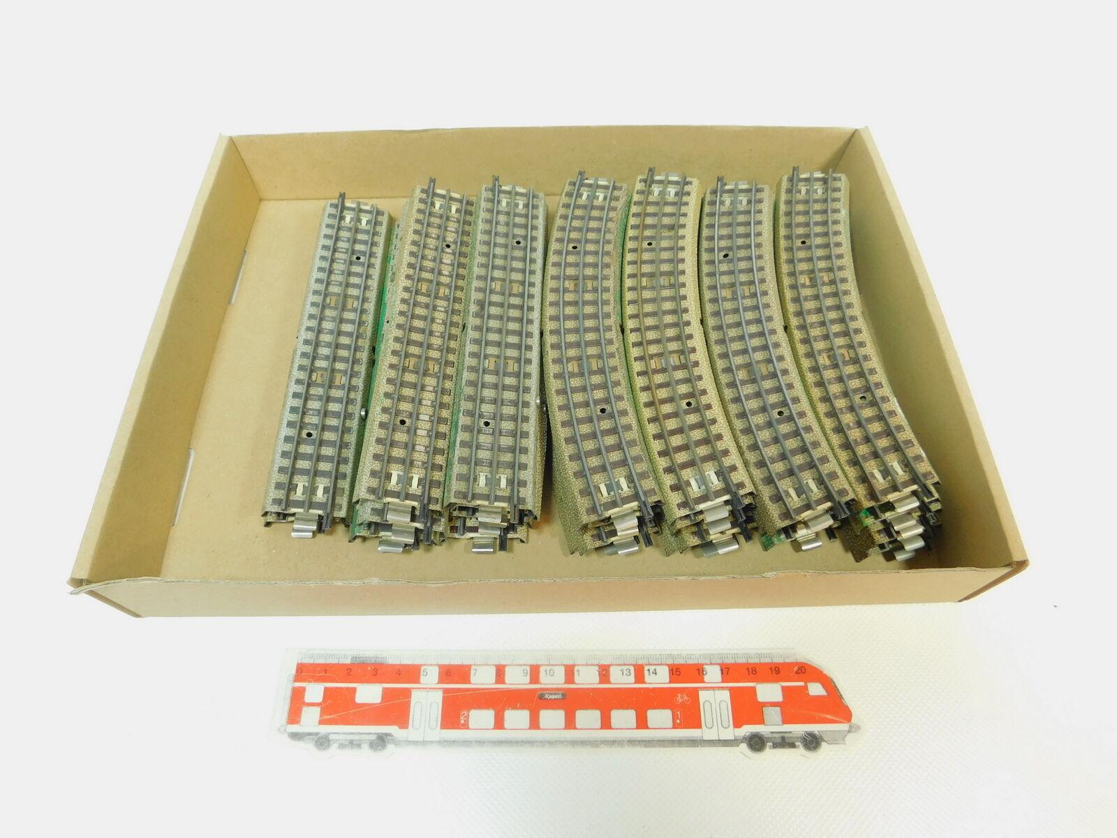 BN740-2x Märklin H0 AC M-Gleis für für für 3600 800 Mittelleiter Hohlprofil 2.Wahl 840cb8