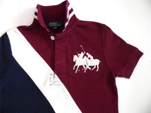 2 To 14 Yrs Ex Top-Marke Großes Pony Streichholz Polohemd Top