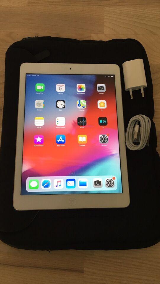 iPad Air, 16 GB, hvid