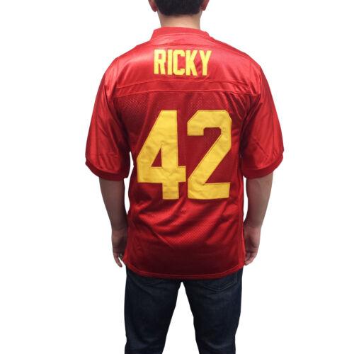 Ricky Baker #42 Football Jersey Boyz N The Hood Costume Boys In Movie Uniform
