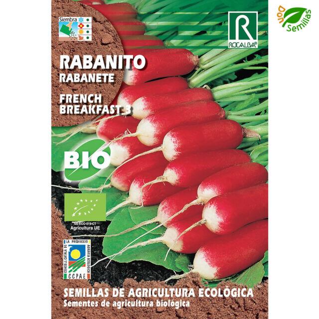 Rabanito French Breakfast Ecológico ( 3 g / 250 semillas ) seeds - Eco Ecologico