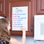 thumbnail 10 - Large Whiteboard Sticker (8 FT) + 3 Dry Erase Board Markers - White Board Wall