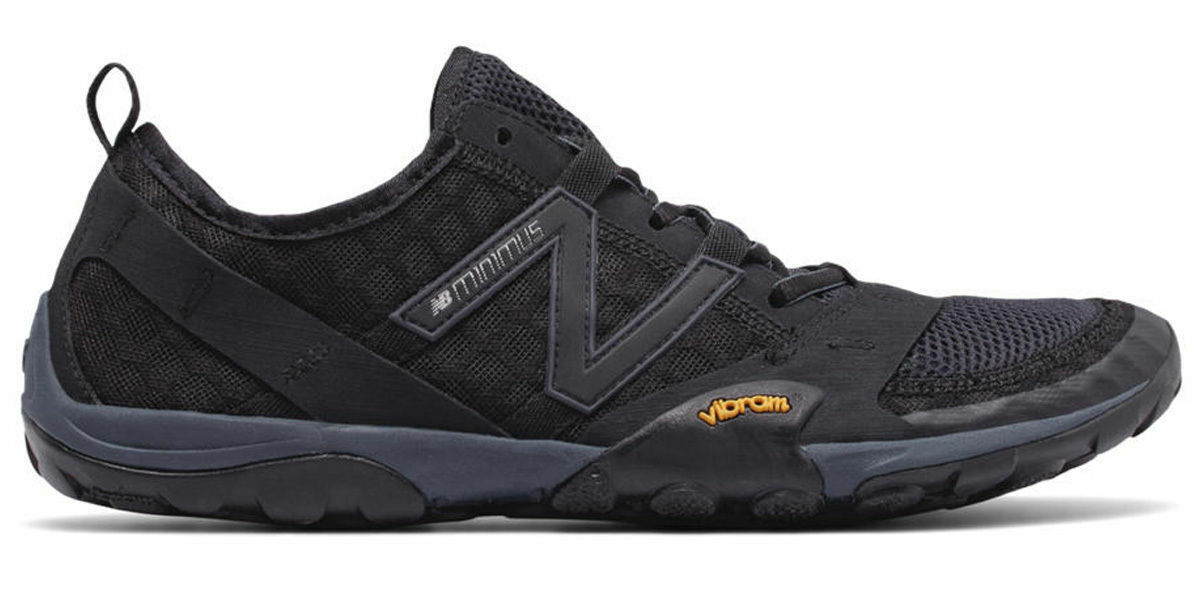 NIB New Balance minimus running shoes MT10SB black men's US 9 9.5 10 D 2E wide