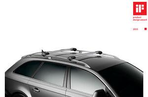 barres de toit thule aluminium citroen c4 cactus d s 2014 ebay. Black Bedroom Furniture Sets. Home Design Ideas