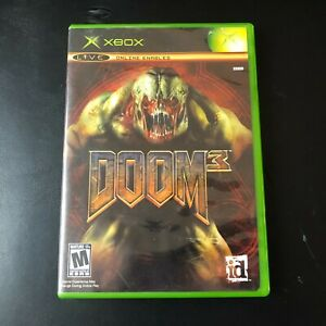 Doom-3-Video-Game-Microsoft-XBox-Original-2005-CIB-amp-Tested