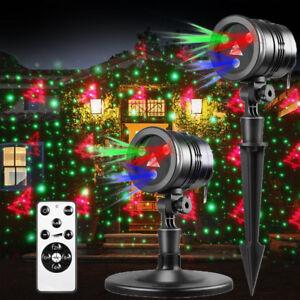 Christmas Led Laser Projector Lights Moving Landscape