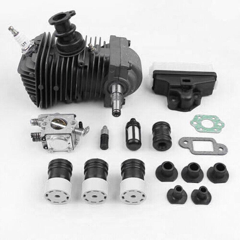 Cilindro Motor Pistón Cocheby Buffer Juego por Stihl 025,023, MS250, MS230 Sierra