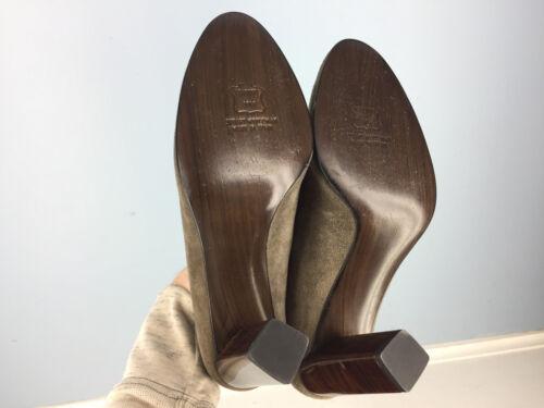 en Stuart talons et à 5 Taupe cuir rétro cuir Escarpins Weitzman vachette Carrière Brown de 8 wqxXS8Yx