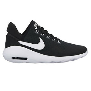 Nike Freizeitschuhe 003 916783 Max Sasha Schwarz weiß Damen Air Sneaker 0r4wq0X