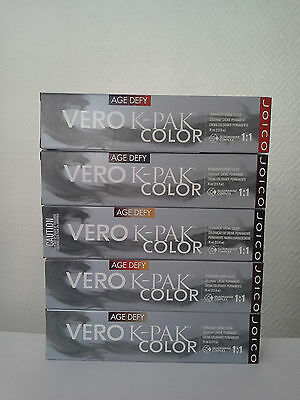 5 X Joico Vero K Pak Age Defy Color 74ml Tracking Number Ebay