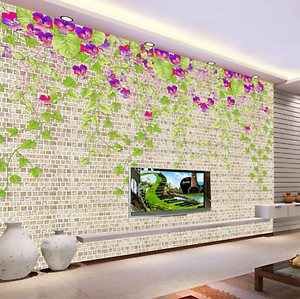 3D Green Vines Flowers 68 Paper Wall Print Wall Decal Wall Deco Indoor Murals