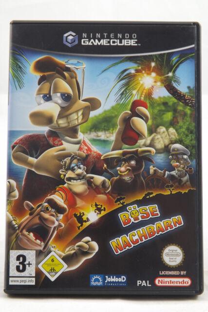 Böse Nachbarn (Nintendo GameCube) NGC Spiel in OVP, PAL, CIB, TOP, GUT