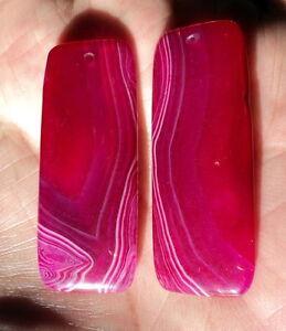 2-Cabochons-pour-pendentif-en-Agate-50x20x5-mm-avec-trou