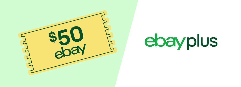 See More - Join Plus & Score a $50 eBay Voucher*