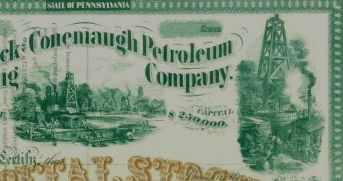 The Blacklick Conemaugh Petroleum Co. Beautiful 186