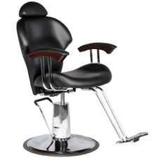WESLEY Salon Beauty Equipment Reclining Multi-Purpose Styling Chair - MP-30BLK