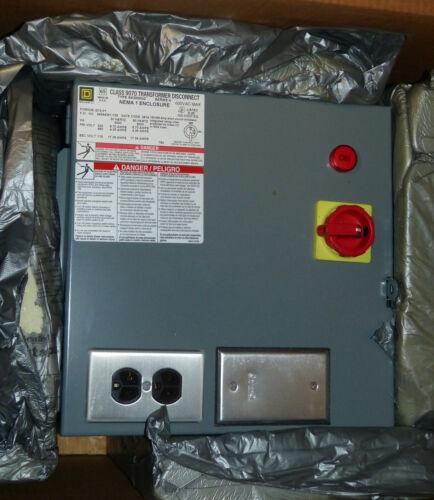 Square D Transformer Disconnect 2000 VA 2kVA 230//460-115 9070SK2000G2D1G13P1 NIB
