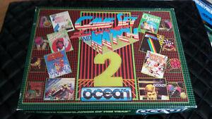 jeu amstrad 464 / 664 / 6128    disquette testée   GAME SET and  MATCH 2