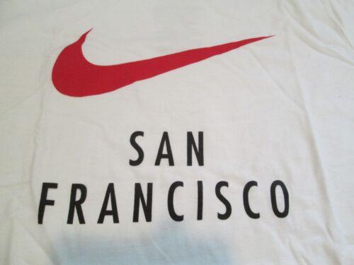 Nueva camiseta mujer Xl rojo San Francisco Must nike Blanco Graphic para Nike See 44USxqwrp