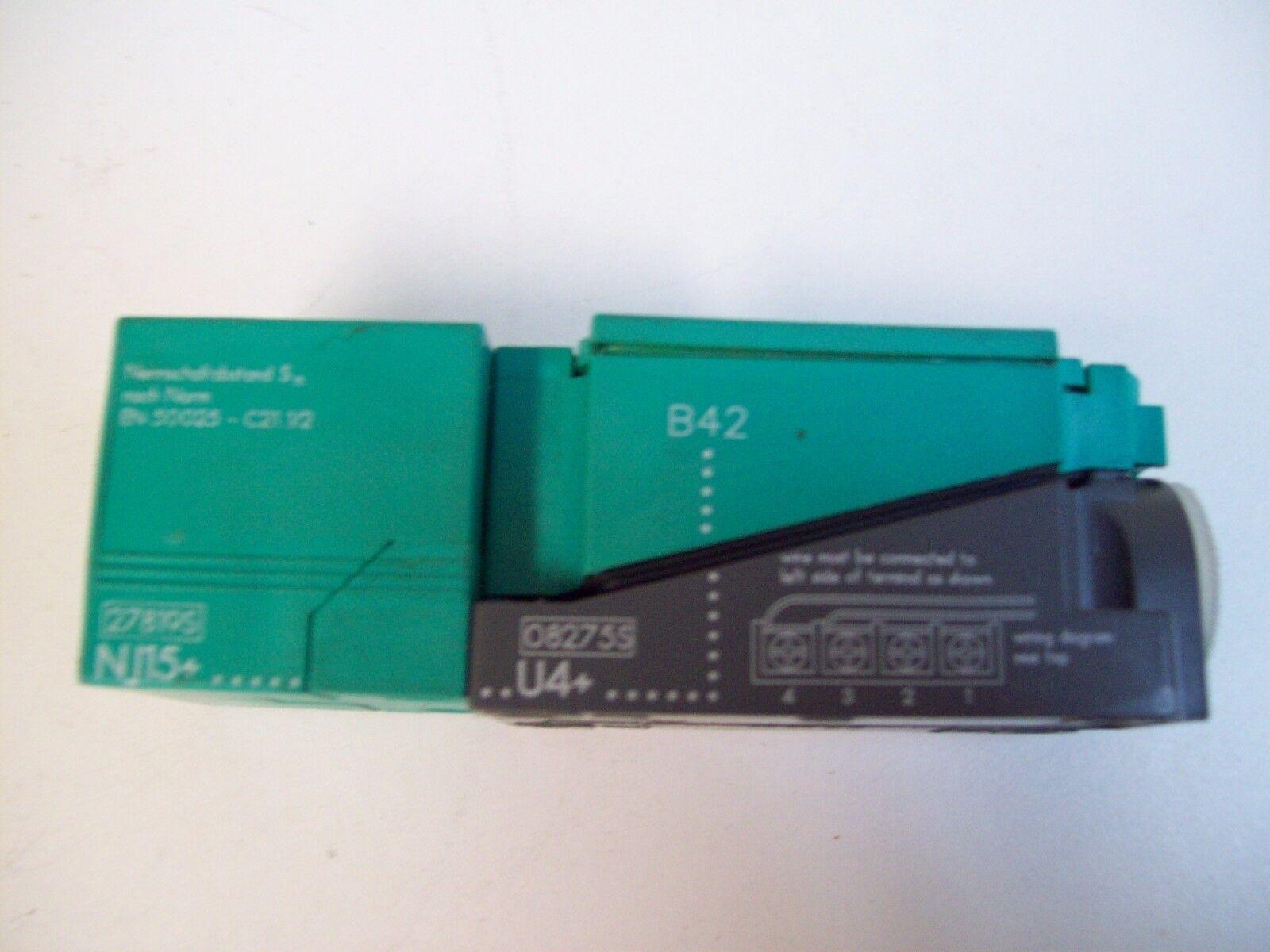 Pepperl & Fuchs NJ15 5 Way Inductive Proximity Sensor Switch | eBay