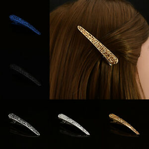Metal-Hair-Clip-Beak-Claw-Filigree-Pelican-Duck-Alligator-Jaw-Concord-Clip