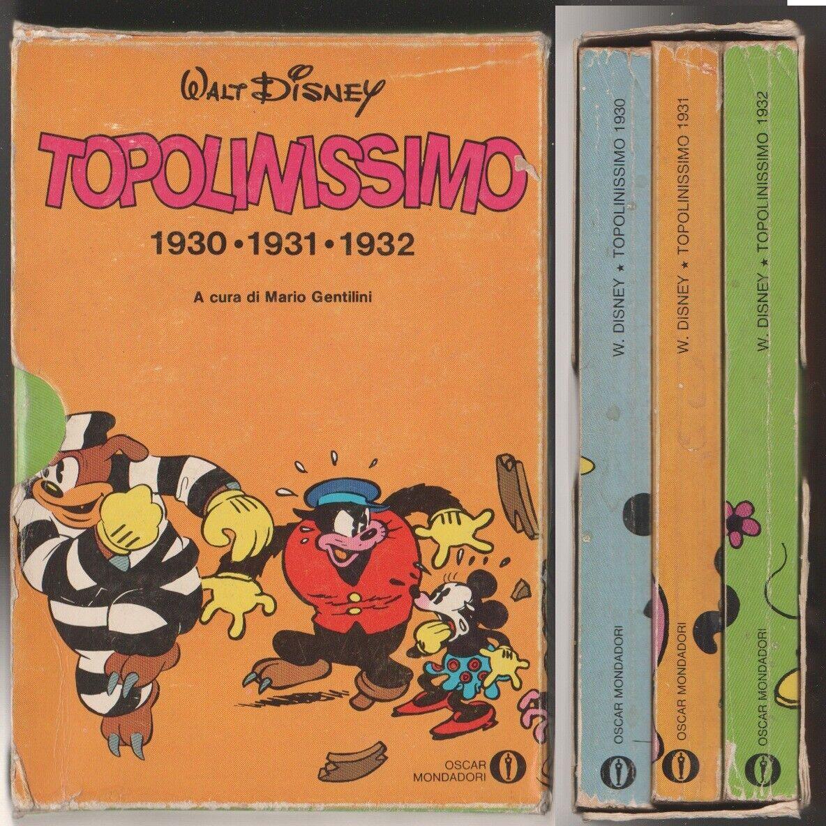 Topolinissimo 1930 - 1931 - 1932