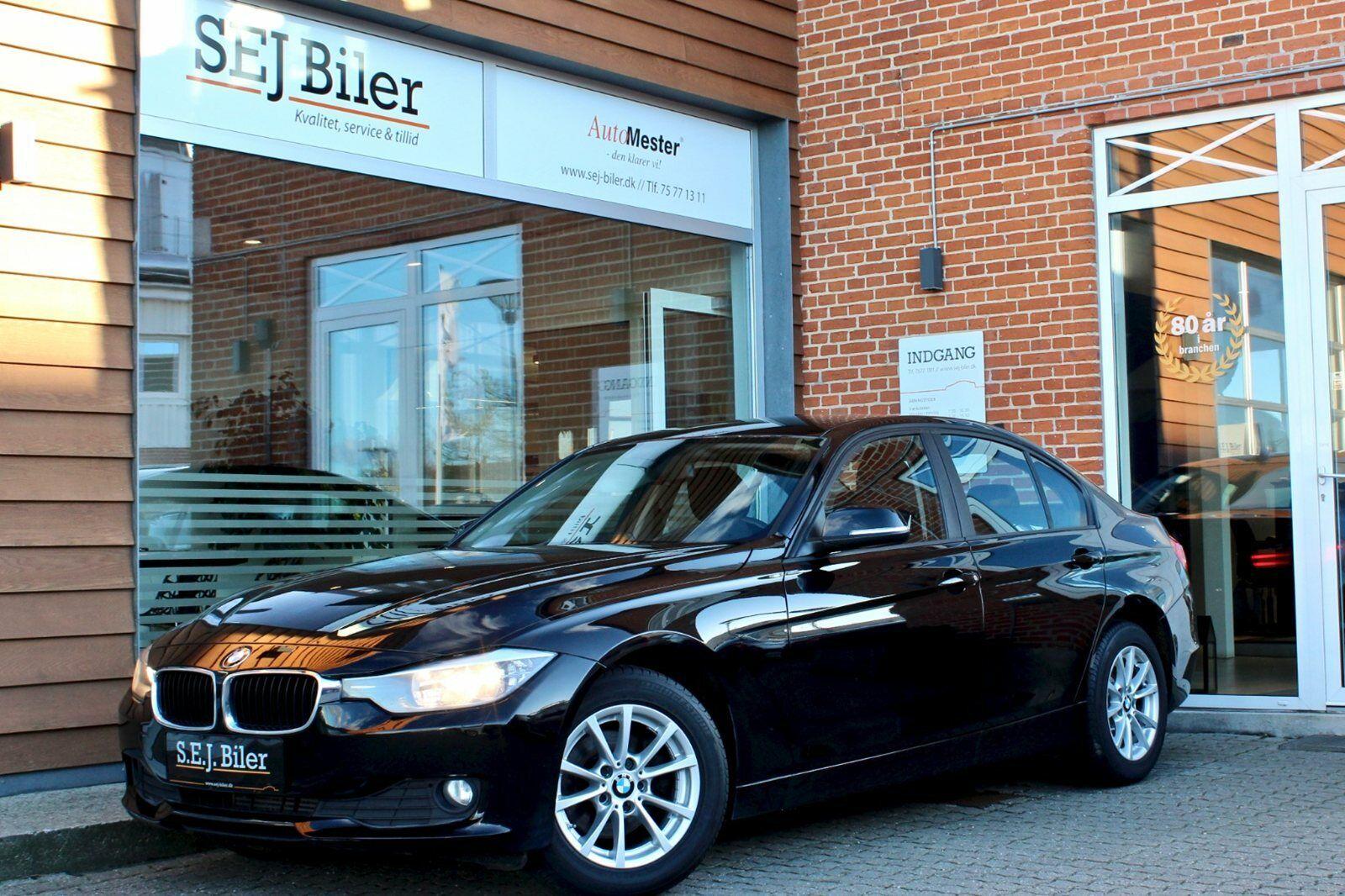 BMW 318d 2,0  4d - 189.800 kr.