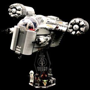 Acryl-Display-Stand-Acrylglas-Standfuss-fuer-LEGO-75292-Mandalorian-Razor-Crest