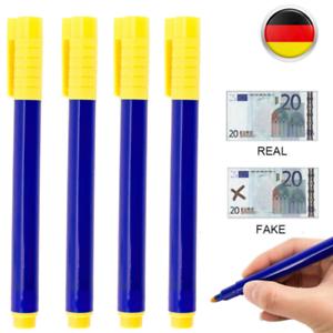 10-50x Geldschein Stift Prüfer Falschgeld Prüfstift Tester Geldscheinprüfstift