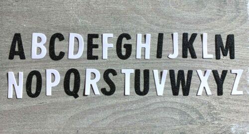 26 Stk. Stanzschablone// Cutting dies Alphabet modern /& klar 2 cm